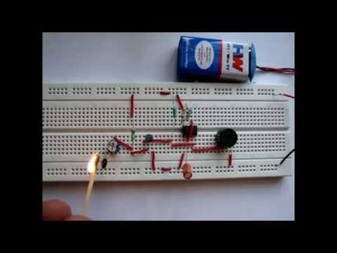 Fire Alarm Project using Thermistor and IC 555