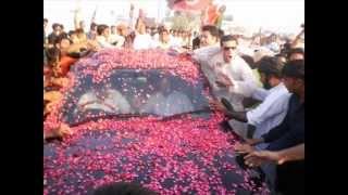 IMRAN KHAN (da pukhtano sandare waya)Edit by Amjad Khan.wmv