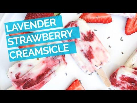 Strawberry Popsicle Recipe with Greek Yogurt