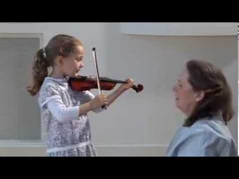 Violin technique - Very Young Beginners, exercises