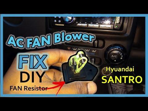 AC FAN Blower Not working | DIY FIX | Hyundai Santro Xing | FAN Resistor