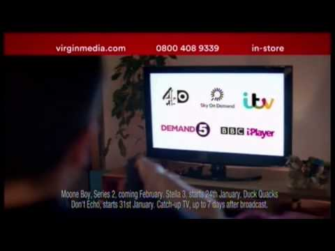 Virgin Media Red Hot Sale Channel 5, January 2014 Michael & Sophie