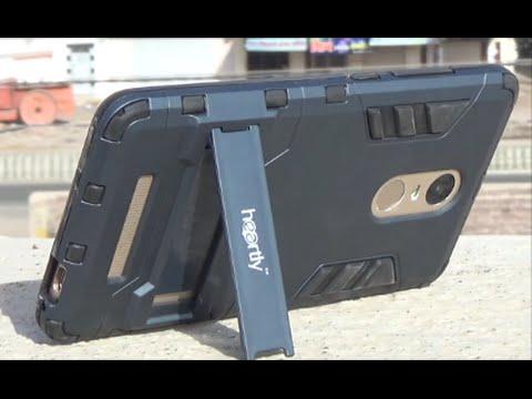 Redmi Note 3 Chevron Military Grad Kick Stand Back Cover Case