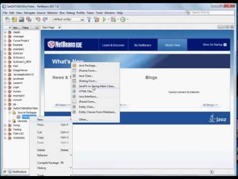 Display database  records in jtable using netbeans -NO CODES