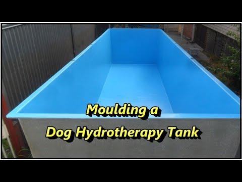 Moulding a Fibreglass Dog Hydrotherapy Tank