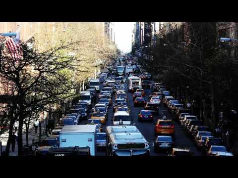 Biggest traffic jam happen in New York city