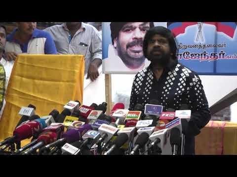 T Rajendar relaunches political party