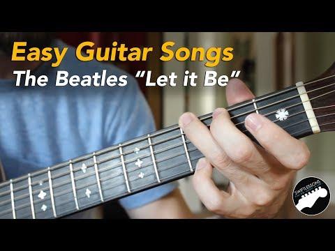 Easy Beginner Guitar Songs  - The Beatles