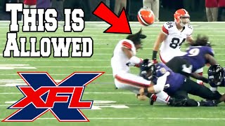 XFL Rules Compared to the NFL (2020)
