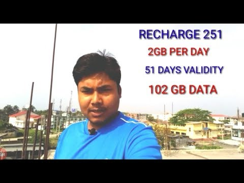 JIO NEW OFFER| Jio 2GB PER DAY|102 GB DATA| 51DAY VALIDITY