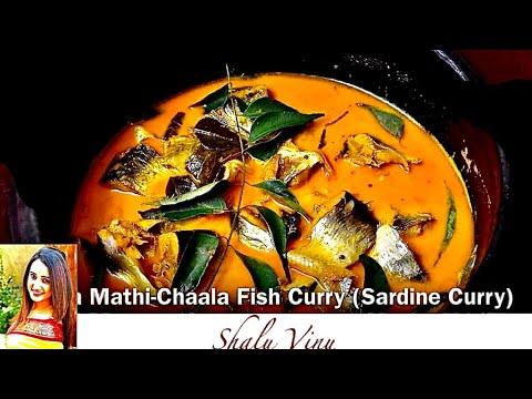 How to make Malabar Matthi  Curry - Sardine Fish Curry Kerela Style