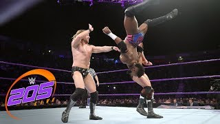 Cedric Alexander & Mark Andrews vs. Joseph Conners & James Drake: WWE 205 Live, Nov. 7, 2017