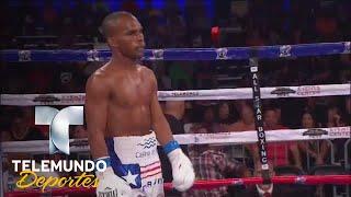 """Bomba"" González retiene título Mosca OMB | Boxeo Telemundo | Telemundo Deportes"