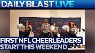First Male NFL Cheerleaders Start This Weekend