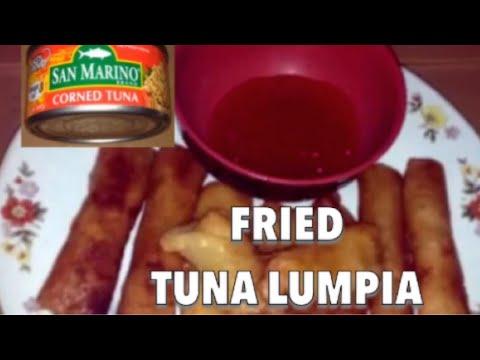 Fried Tuna Lumpia A Lenten Season Recipe