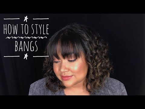 How I Style My Bangs || The Savvy Beauty