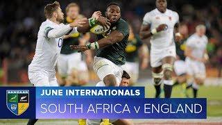2018 June Test Series:  Third Test – South Africa v England