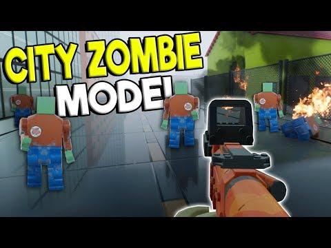 NEW LEGO ZOMBIE SURVIVAL CITY MODE! - Brick Rigs Update Gameplay - Lego Zombie Beta Update