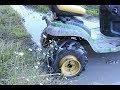 Making a Wheel Winch for my Locked John Deere.