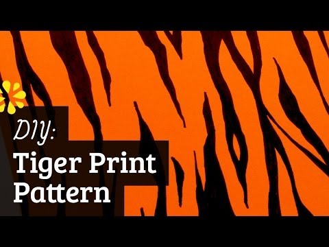 How to Make Tiger Pattern