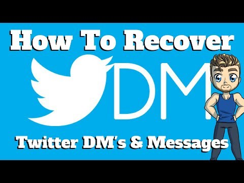 Recover Twitter Direct Messages & Tweets