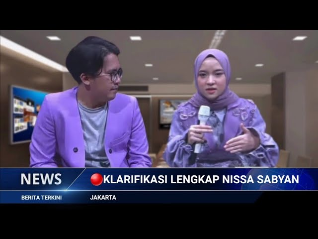 Download Akhirnya Nissa Sabyan Klarifikasi Soal Isu Yang Beredar ~ Gosip Artis Hari Ini MP3 Gratis