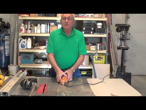 Using A trimmer Router