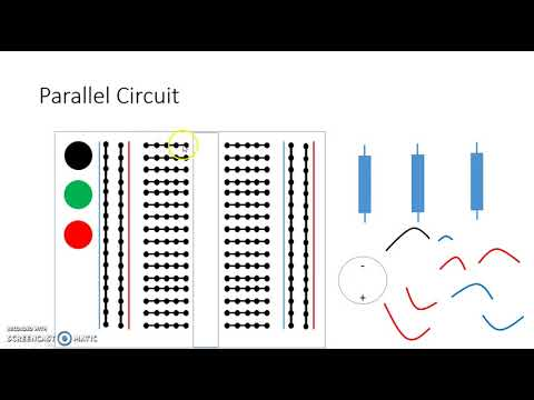 Simulated Circuit Set Up On A Bread Board
