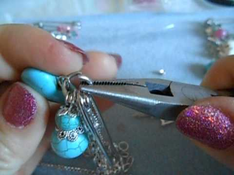Beaded Garment Pin brooches and tutorial