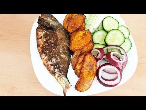 Bring Nigerian Restaurant Home   Evening Snack of Baked Fish