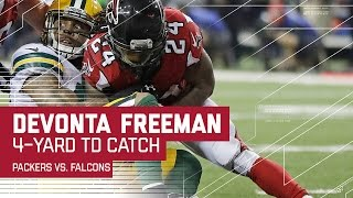 Julio Jones Unreal Catch Sets Up Freeman TD! | Packers vs. Falcons | NFC Championship Highlights