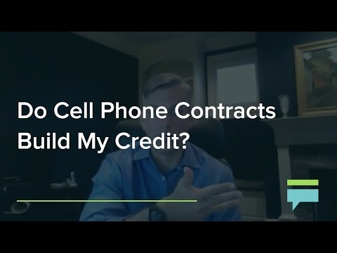 Do Cell Phone Contracts Build My Credit? – Credit Card Insider