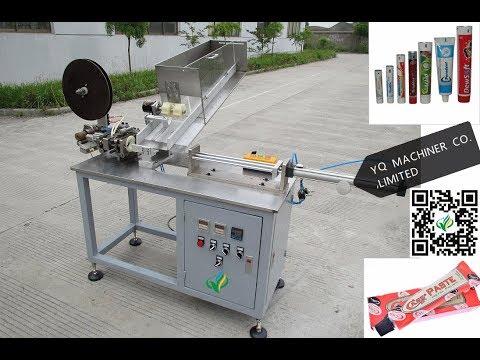 cosmetic tube sealing machine plastic aluminum foil sealer  Машина для уплотнения труб