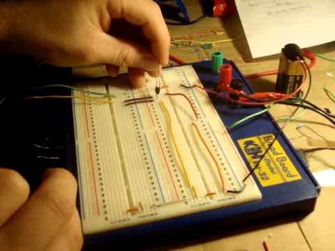 Electronics 8 : How to Make a NAND Logic Gate