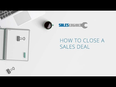 How to Close A Sales Deal
