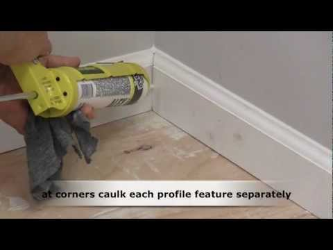 How to Caulk Trim Molding