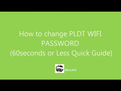 How to change PLDT WIFI PASSWORD Quick Guide