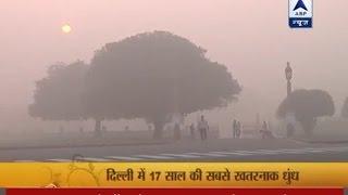 Delhi battles worst smog in 17 years