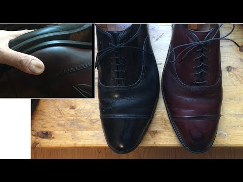 Wide feet? Allen Edmonds 3E vs D width dress shoe