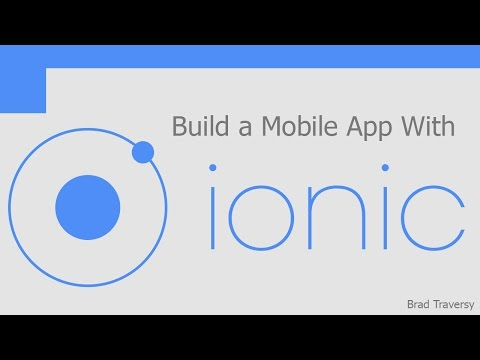 Build a Mobile App With Ionic - Part 1