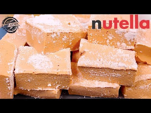 How to make NUTELLA MARSHMALLOWS - DIY Recipe