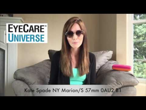 Kate Spade NY Marion/S 57mm 0AU2 B1 Video Review
