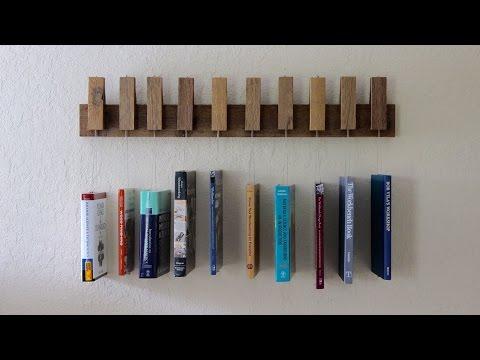 Making a Hanging Book Shelf