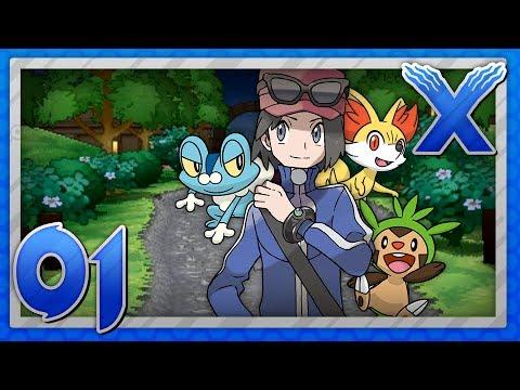 Pokémon X Version - Part 1 - New Friends!