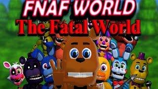 Super FNaF WORLD All 48 NEW Animatronics Unlocked (All