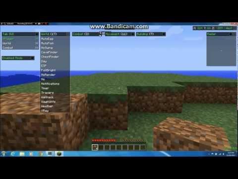 Best Minecraft 1.4.5 or below Mod/Hack [Nodus Client]