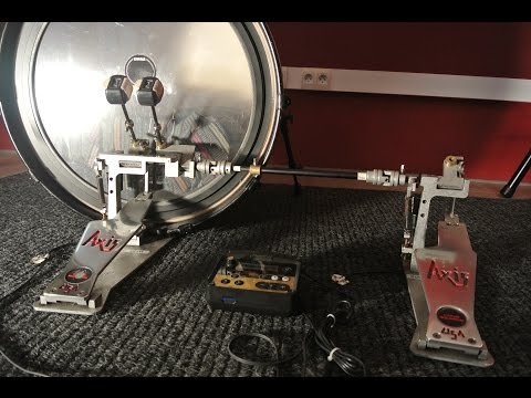 PEDALS, TRIGGER and BASS DRUM SETUP