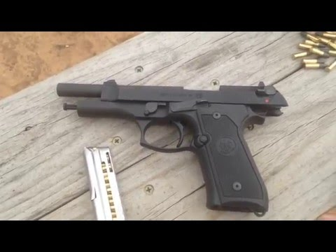 Beretta M9-22LR First Look and Quick Review