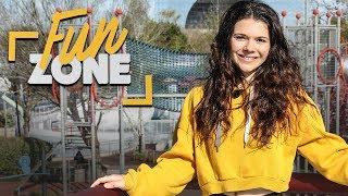 FUN ZONE | EMISSION #1 | Trampoline Challenge - JUJU FITCATS & ROSE THR