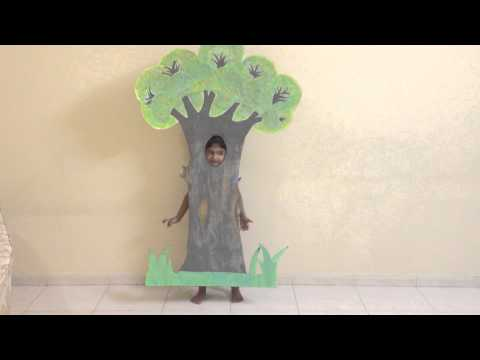 Fancy Dress Competition Costume - Theme Environment - Tree